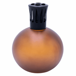 Frosted Brown Globe Fragrance Lamp by Sophia's