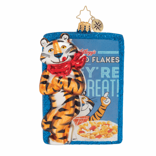 Frosted Flakes, They're GRRRREAT! Ornament by Christopher Radko