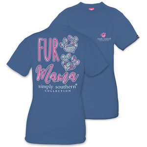 Fur Mama Short Sleeve Tee by Simply Southern
