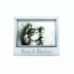 "Furry & Fabulous 4x6"" Signature Frame by Mariposa"