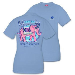 Get Off My Tail Short Sleeve Tee by Simply Southern