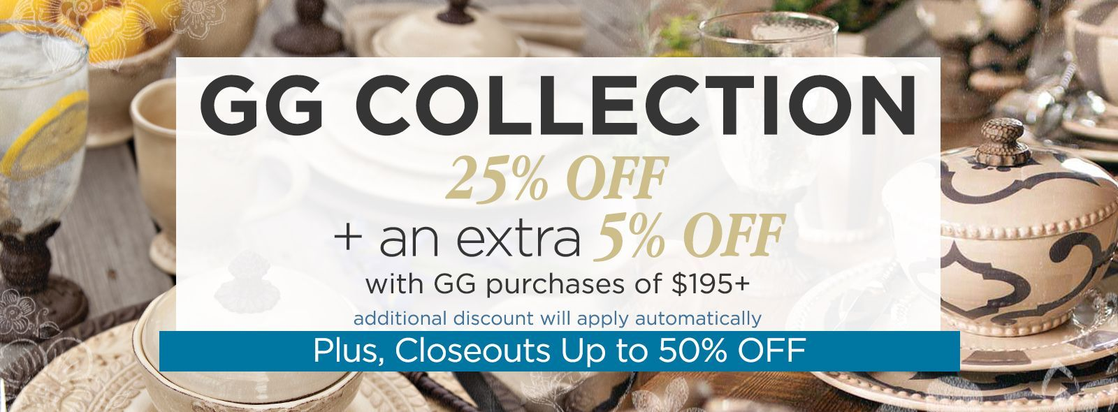GG Collection Closeouts