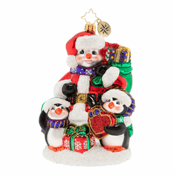 Gift Of A Forever Family Ornament by Christopher Radko - Preorder (Available mid January 2020)