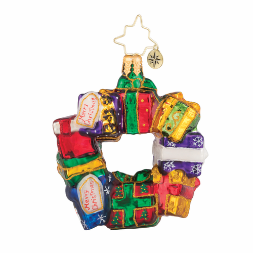 Gifts All Around Gem Ornament by Christopher Radko
