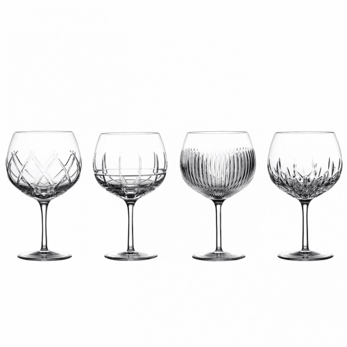 Gin Journeys Balloon Set of 4 (Aras, Cluin, Lismore, & Olann) by Waterford