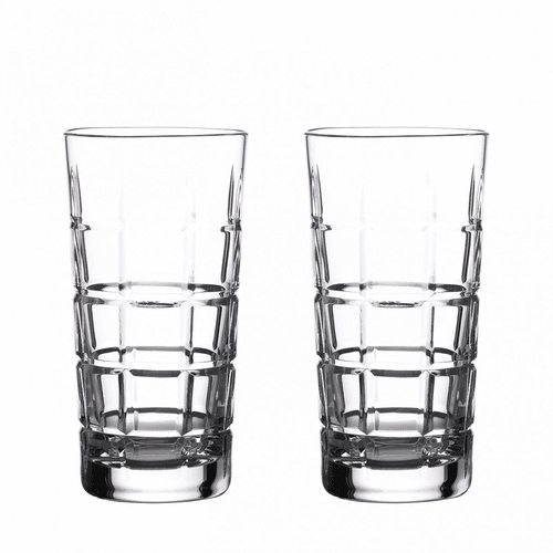 Gin Journeys Cluin Hiball Pair by Waterford
