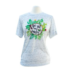 Go Sit On a Cactus Tee by Emory Lane