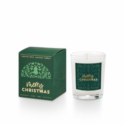 Good Cheer Boxed Glass Votive Illume Candle