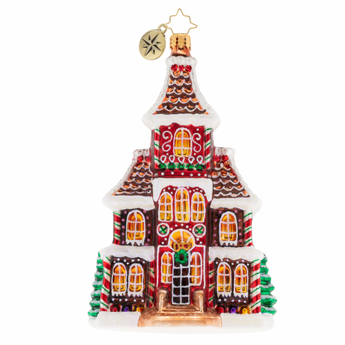 Grandeur in Ginger Ornament by Christopher Radko