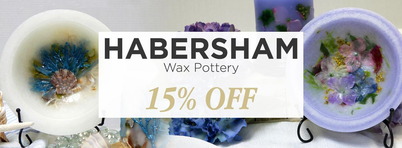 Habersham Candle Co. Wax Pottery Collection