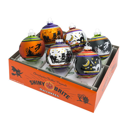 """Pre-Order - Halloween 3.25"""" Signature Flocked Ombre (Set of 6) - (Available Fall 2021)"""