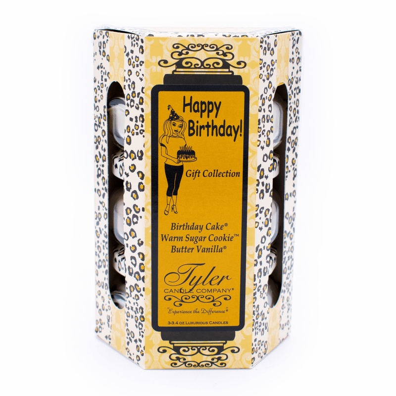 Tyler Candle Company Happy Birthday Diva Gift Collection