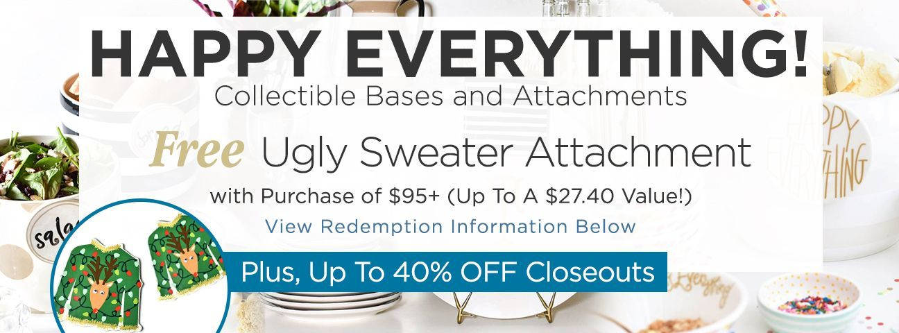 Happy Everything Closeouts
