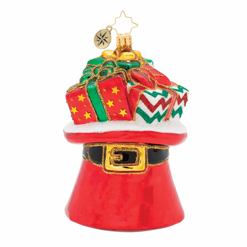 Hat Trick Treasures! Ornament by Christopher Radko