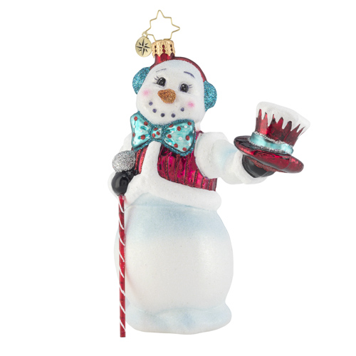 Hats off Snowman! Ornament by Christopher Radko