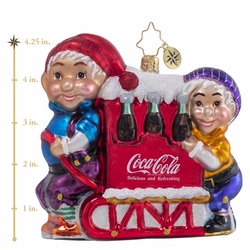 Have A Coke & A Smile Ornament by Christopher Radko