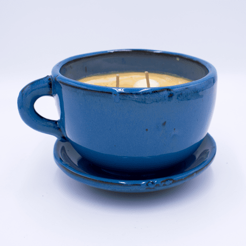 Hazelnut Large Stoneware Coffee Cup Swan Creek Candle