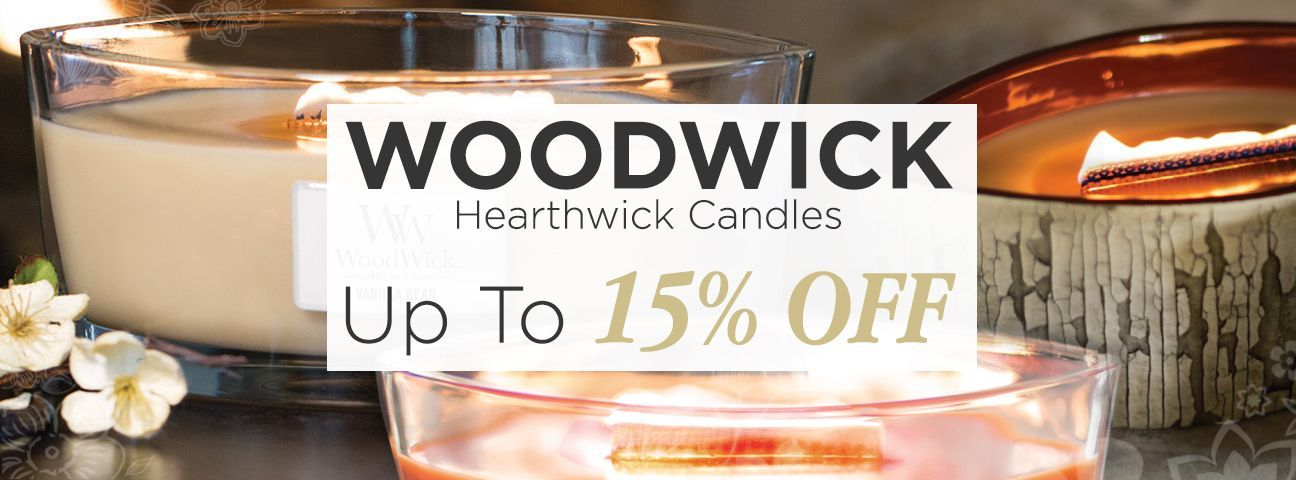 HearthWick Candles by WoodWick