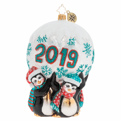 Holding Up 2019 Ornament by Christopher Radko