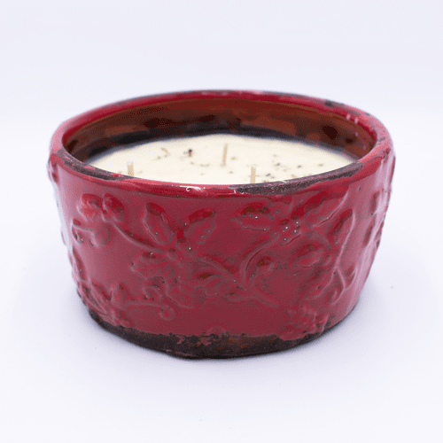 Home For The Holidays Holiday Pottery Bowl Swan Creek Candle
