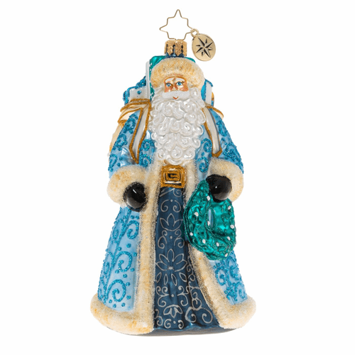 I'll Have A Blue Christmas Ornament by Christopher Radko