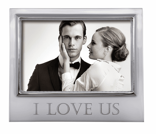"""""""I Love Us"""" 4x6 Signature Frame by Mariposa"""