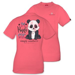 I'm Pandastic Short Sleeve Tee by Simply Southern