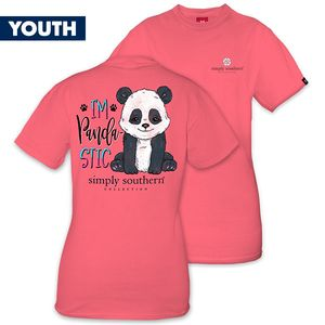 I'm Pandastic YOUTH Short Sleeve Tee by Simply Southern