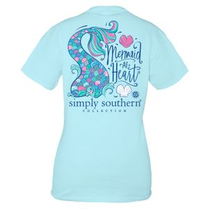 Ice Mermaid Short Sleeve Tee by Simply Southern