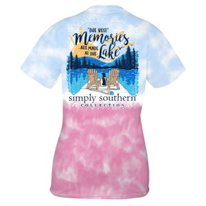 Icepop Lake Memories Short Sleeve Tee by Simply Southern