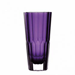 "Icon Amethyst 12"" Vase by Waterford"