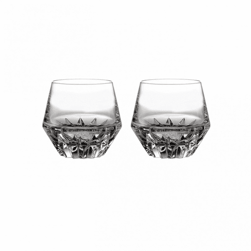 Irish Dogs Madra Double Old Fashioned Pair by Waterford