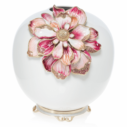 Jay Strongwater Dolly Magnolia Vase