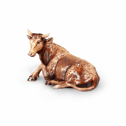 Jay Strongwater Ox Figurine - Natural - Special Order