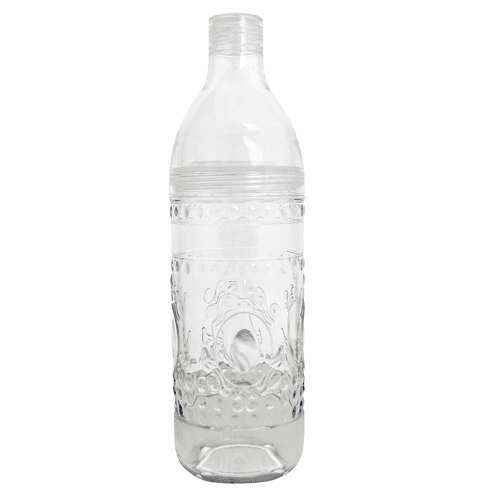 Jewel Glassware Clear Bottle by Le Cadeaux