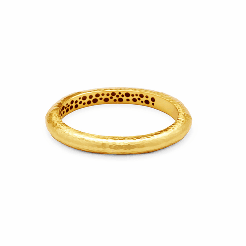 Julie Vos Catalina Hinge Bangle - Gold