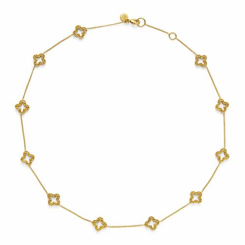 Julie Vos Florentine Delicate Necklace - Gold