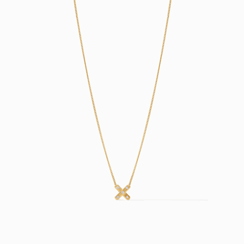 Julie Vos Paris x Charm Necklace - Gold Cz