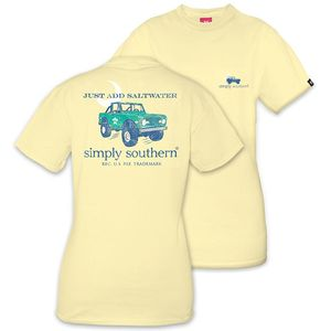Just Add Saltwater Unisex Short Sleeve Tee by Simply Southern