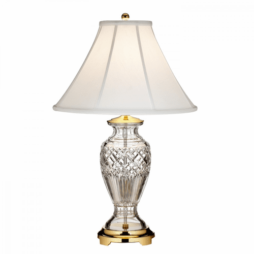 """Kilmore Polished Brass 27.5"""" Table Lamp by Waterford"""