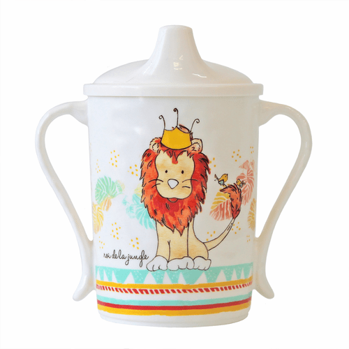King of the Jungle Sippy Cup by Baby Cie
