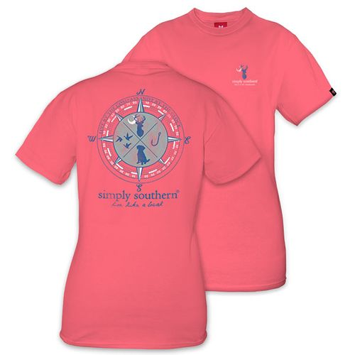 Large Live Like a Local Hunting Unisex Short Sleeve Tee by Simply Southern