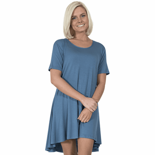 Large Moonrise Short Sleeve Tunic by Simply Southern
