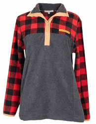 Large Plaid Simply Fleece by Simply Southern