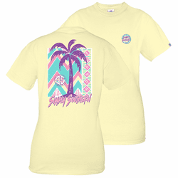 Large Retro Logo Butter Short Sleeve Tee by Simply Southern