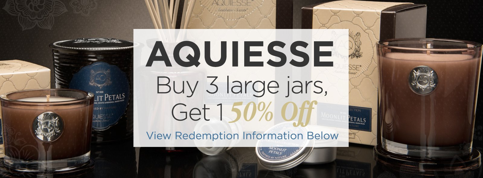 Large Soy Standard Candles by Aquiesse