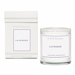 Lavender 8 oz. Jar Candle by K. Hall Designs