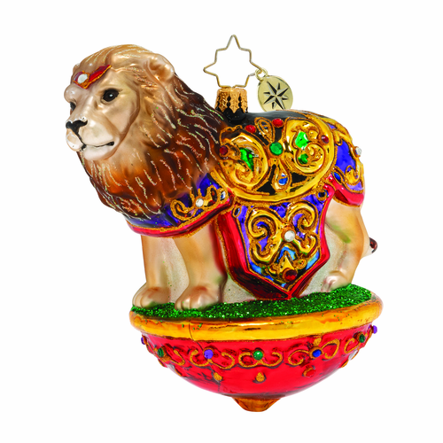 Lavish Lion! Ornament by Christopher Radko