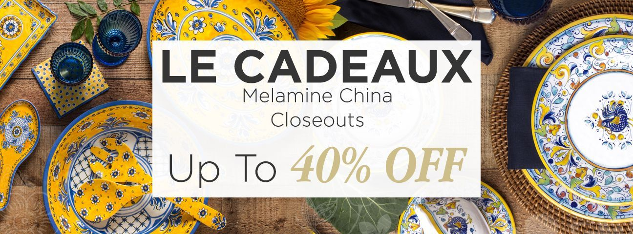Closeouts and Overstocks by Le Cadeaux