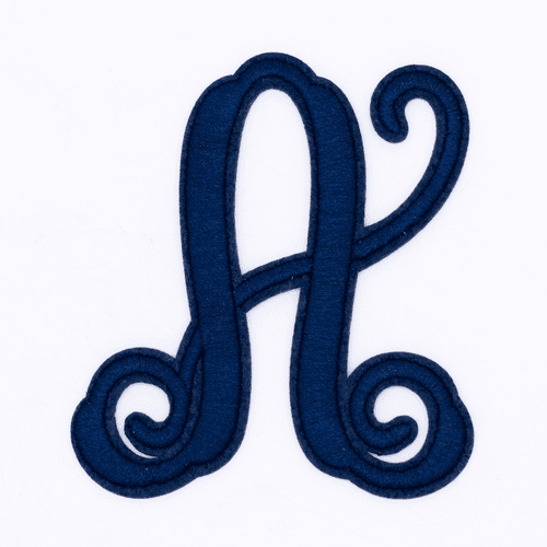 """Letter """"A""""  Navy Monogram by Simply Southern"""